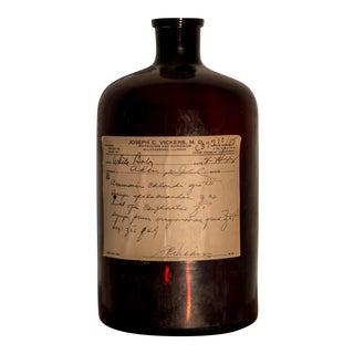 1940s Medicine Prescription Bottle