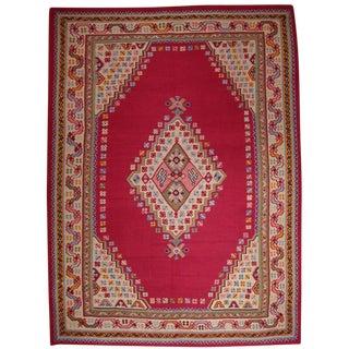 Fantastic Antique Oushak Kilim