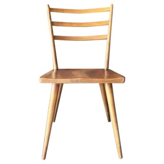 Mid Century Paul McCobb Style Solid Maple Chair