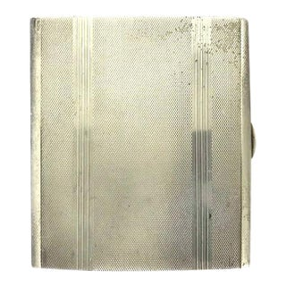 Sterling Silver and Gilt Cigarette Case, English 1932