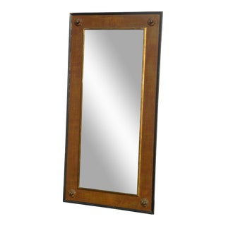 Federal Brown & Gold Full Length Wall Mirror