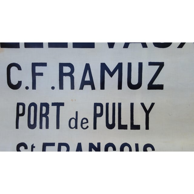 1940's French Bus Destination Blind - Image 3 of 3