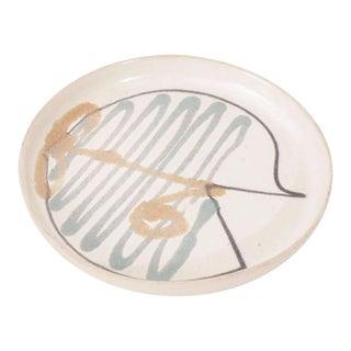 Vintage David Gil Ceramic Plate for Bennington