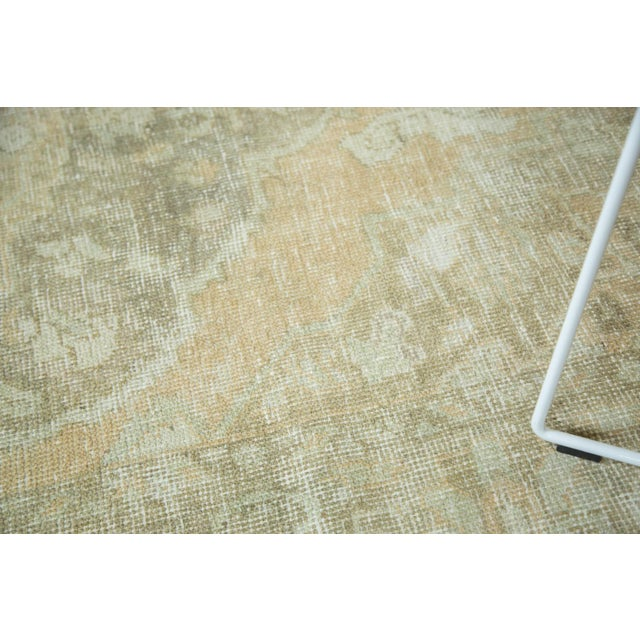 "Vintage Distressed Oushak Carpet - 5'8"" x 9'4"" - Image 6 of 10"