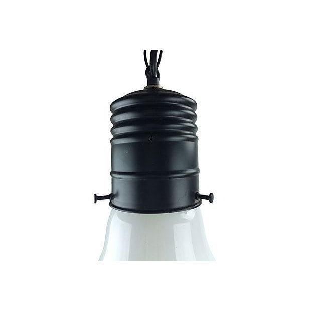 1970s Pop Art Giant Lightbulb Pendant Light - Image 2 of 5