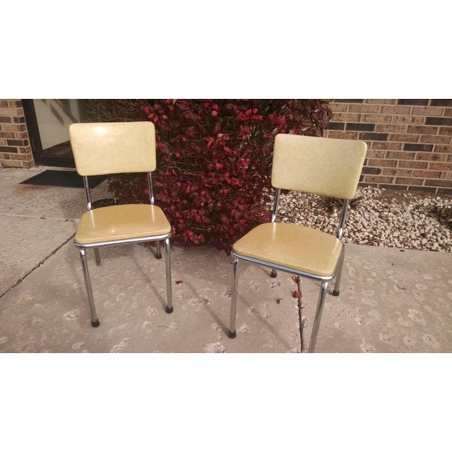 Howell Vintage Chrome Chairs - A Pair - Image 2 of 6