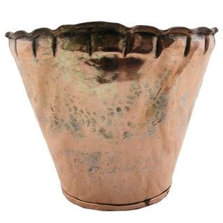 Scallop Edge Turkish Copper Pot