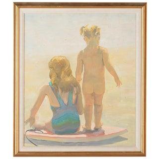 """California Beach"" Painting by Peter Adams"
