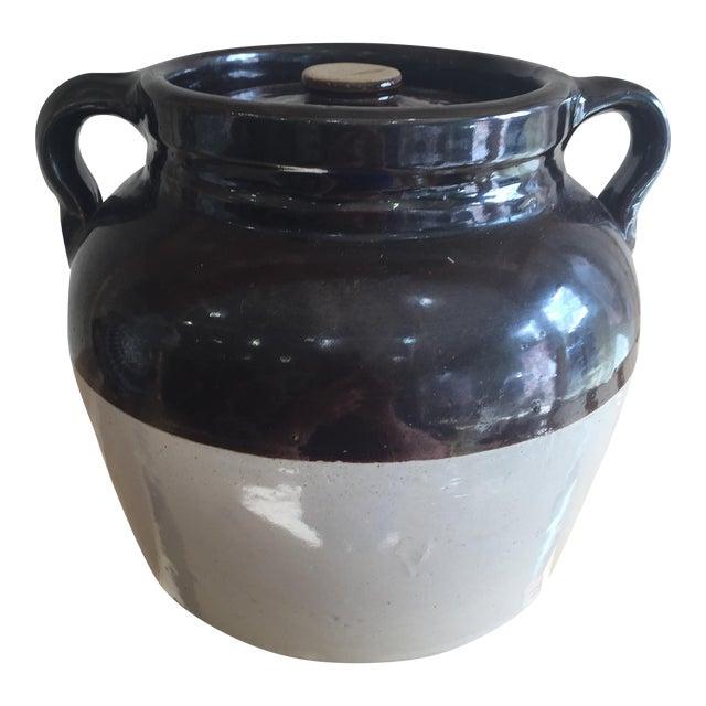 Vintage Jar With Two Jug Handles - Image 1 of 6
