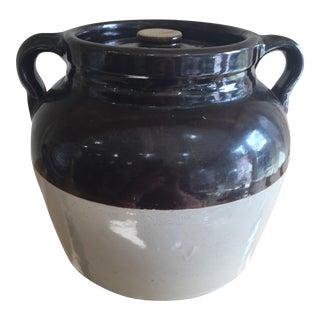 Vintage Jar With Two Jug Handles