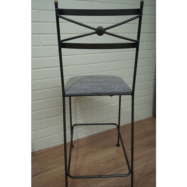 Pair of Luxury Hand Forged Counter Stools - Image 7 of 10