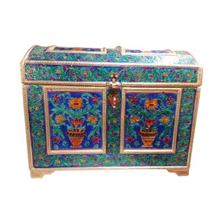 Royal Meenakari Decorated Jewelry Box