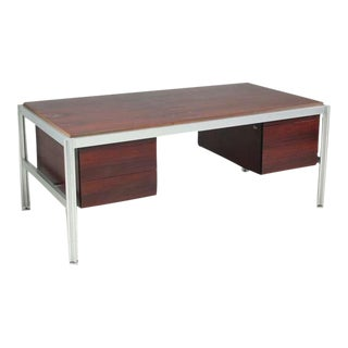 George Ciancimino Rosewood Executive Desk, France, ca. 1970