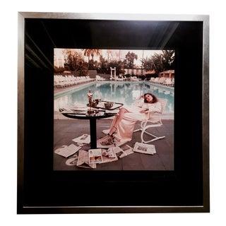 "1977 Terry O'Neill ""Faye Dunaway, Beverly Hills Hotel"" Chromogenic Print"