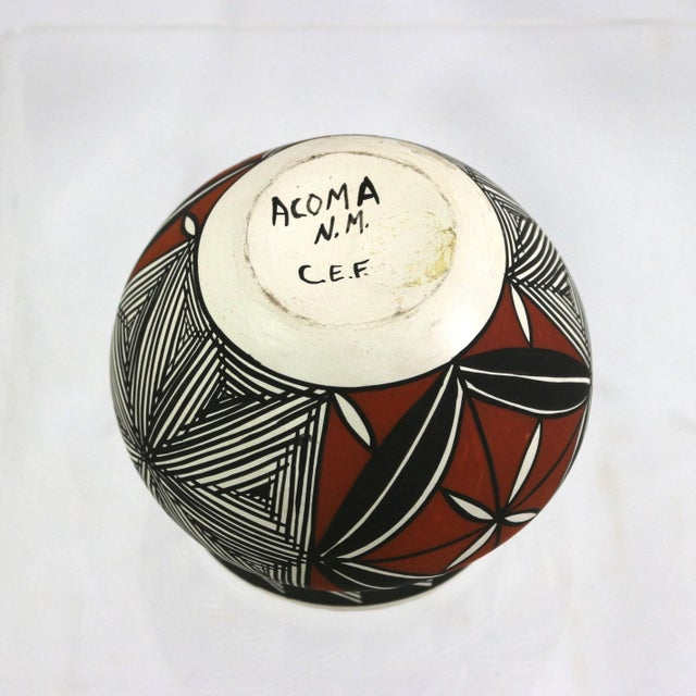 Image of Vintage Acoma Native American Art Pottery