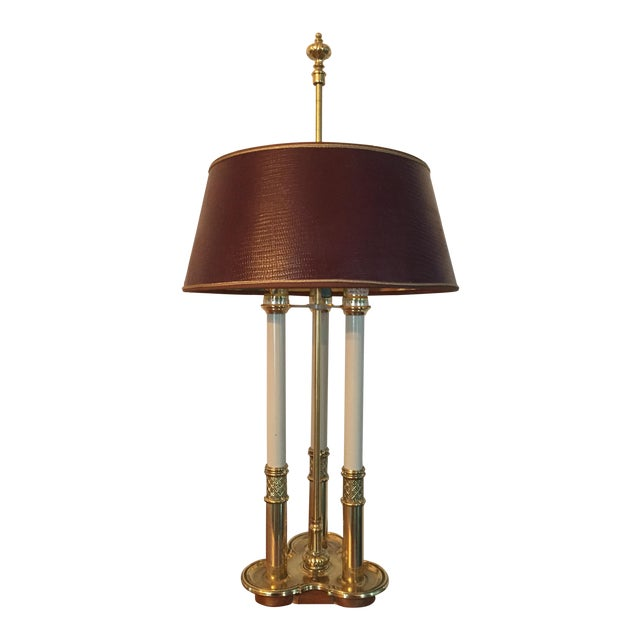 Stiffel Bouillotte Candle Desk Lamp - Image 1 of 5