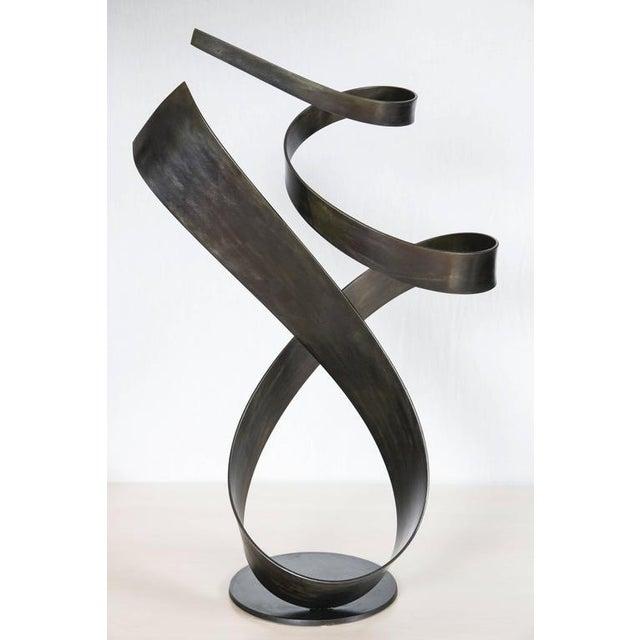 Silhouette by Joe Sorge, Steel Sculpture - Image 3 of 9