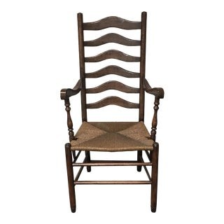 Guy Chaddock Ladder Back Arm Chair
