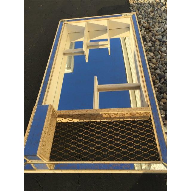 Mid-Century Atomic Mirrored Shadowbox - Image 8 of 9