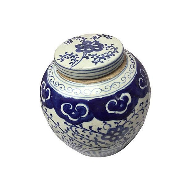 Chinese Hand-Painted Jars - Pair - Image 4 of 5