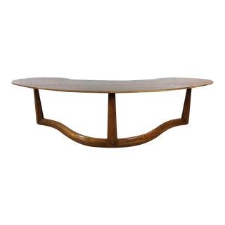 Danish Boomerang Coffee Table