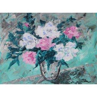 Rose Bouquet #2-Abstract Floral By. C. Plowden