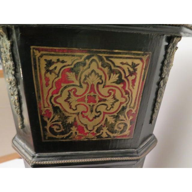 Antique Boulle Pedestals - a Pair - Image 5 of 6