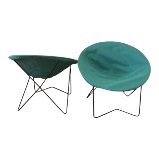 Frederick Weinberg Style Hoop Chairs - a Pair