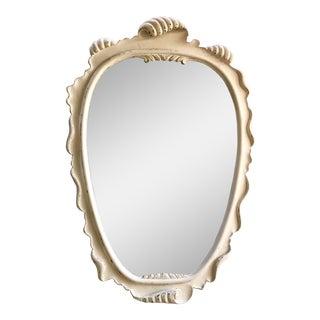 Carved Wood Italian Mirror
