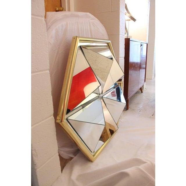Mid-Century Modern Prism Mirror - Image 2 of 7