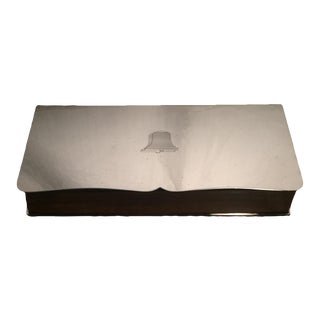 Wallace Silverplate Trinket Box