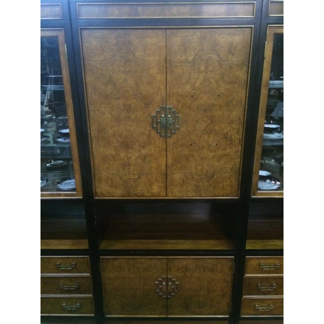 Century Asian-Style Entertainment Center Cabinet - Image 5 of 11