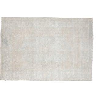 "Distressed Oushak Carpet - 5'8"" X 8'7"""
