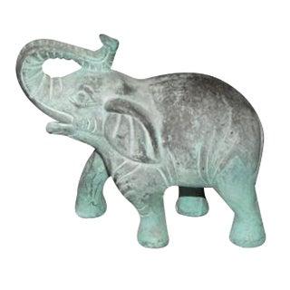 Vintage Brass Elephant w/Patina