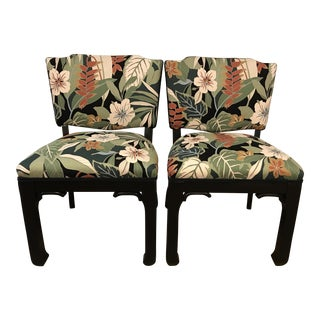 James Mont Inspired Side Chairs - A Pair