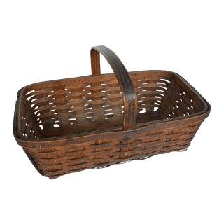 Vintage American Gathering Basket