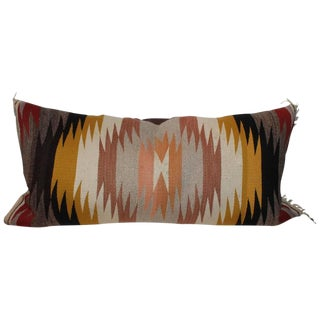 Navajo Indian Weaving Pastel Bolster Pillow