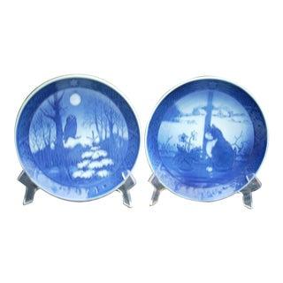 Royal Copenhagen Decorative Plates - A Pair