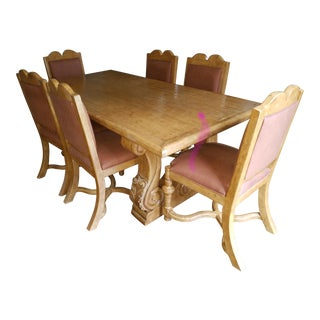 Vintage & Used Dining Table & Chair Sets   Chairish