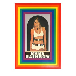 'R is for Rainbow' Silkscreen by Peter Blake
