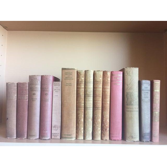 Antique Pastel Books - Set of 14 - Image 3 of 6