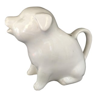 Ceramic Piggy Milk Pitcher