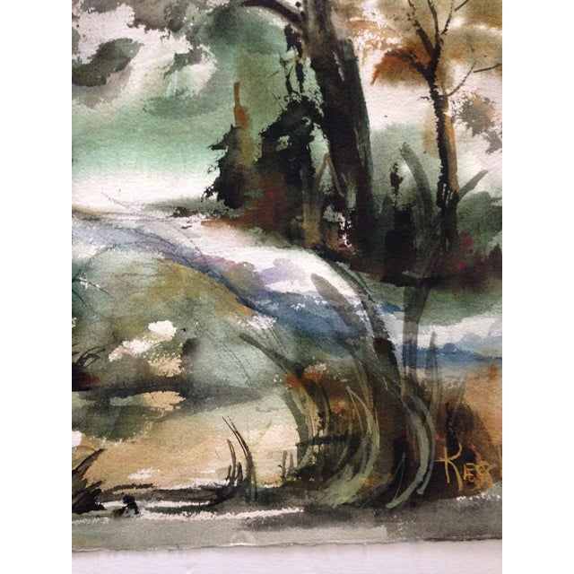 Edna Leventhal Kessler Watercolor - Image 4 of 5