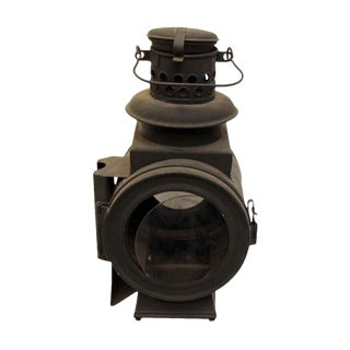 Antique Carriage Oil Lantern