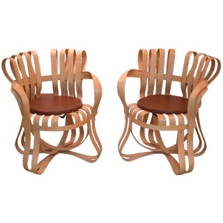 Gehry Cross Check Chairs - A Pair