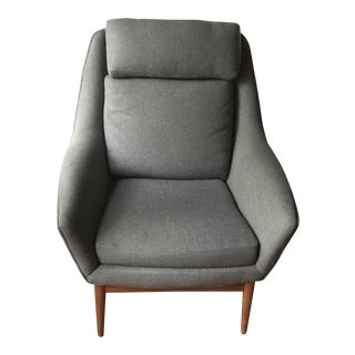 Folke Ohlsson Danish Modern Occasional Chair