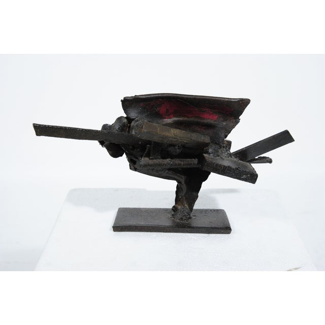 French Metal Sculpture by Jean-Pierre Rives - Image 3 of 5