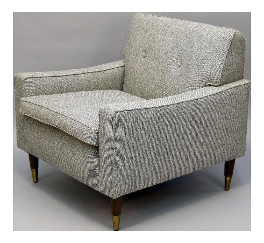 Mid Century Restored Club Chair