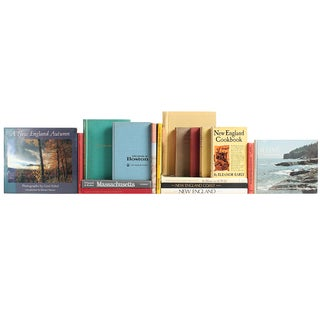 Vintage 'New England Tour' Books - Set of 18