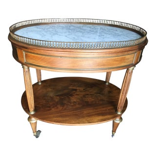 French Bar Cart Marble top